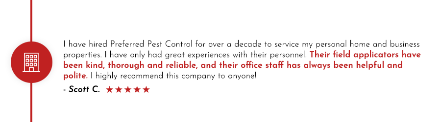Preferred Pest Control commercial pest control services